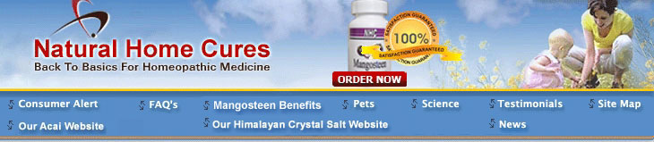 Natural Home Cures Banner